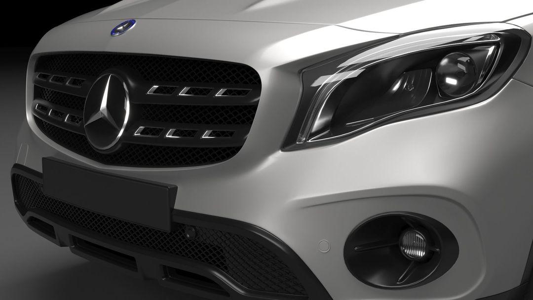Mercedes Benz GLA AMG 2018 mercedes benz gla amg 2018 3d model max obj mtl fbx 5 jpg