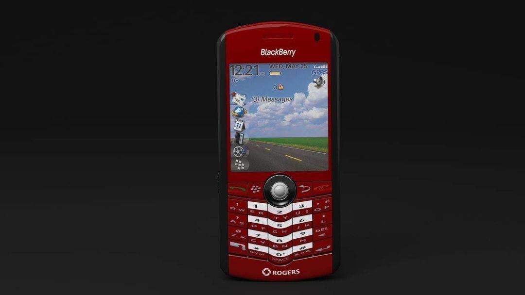 BlackBerry Rogers Pearl 8100 Cellphone blackberry rogers pearl 8100 cellphone 3d model max obj fbx 2 jpg