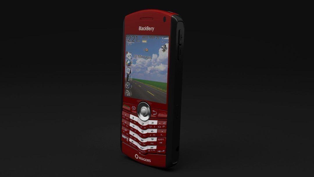 BlackBerry Rogers Pearl 8100 Cellphone blackberry rogers pearl 8100 cellphone 3d model max obj fbx 3 jpg