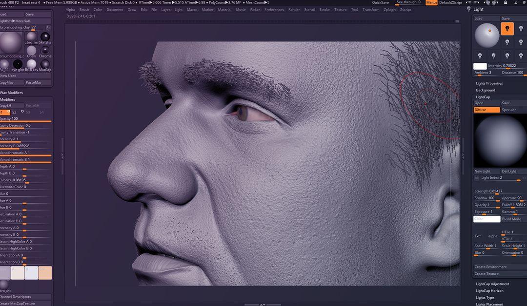 Male Face Likeness narendra keshkar 04 1 jpg