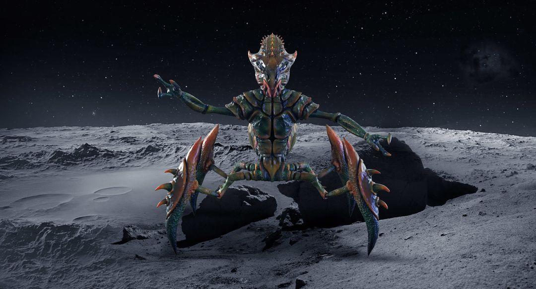 Alien Creature - Ghar 01 narendra keshkar ghar2 jpg