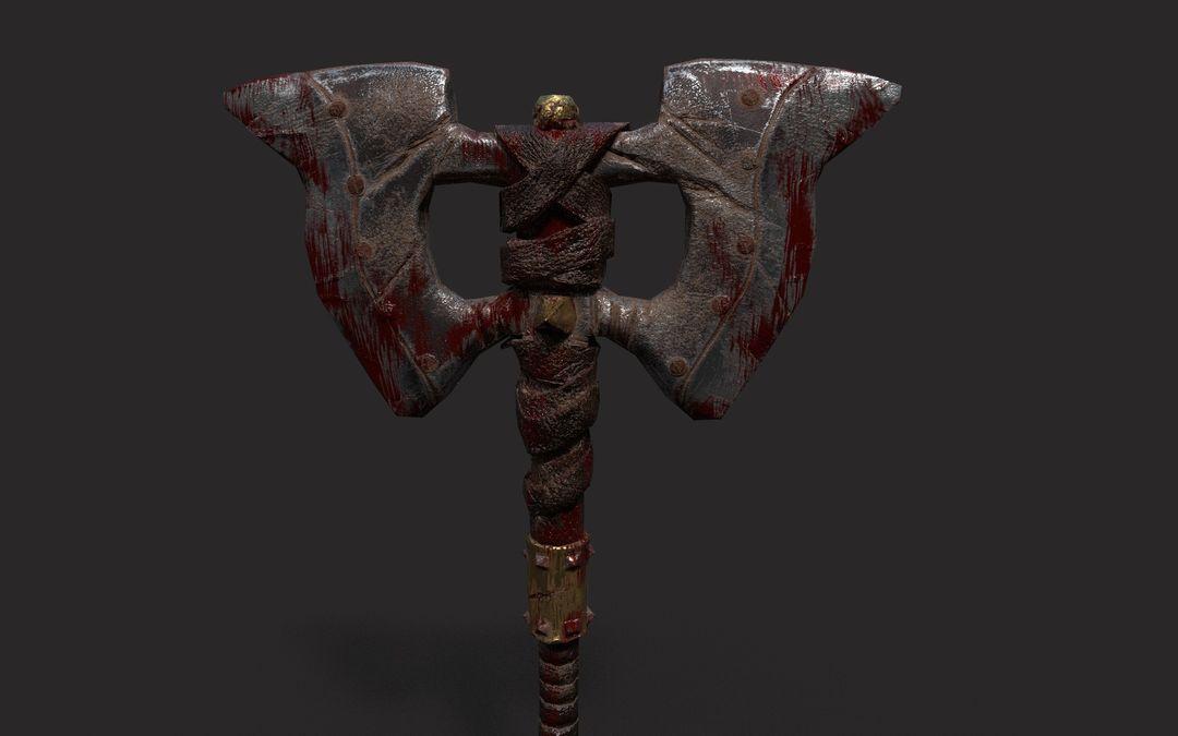 Medieval weapon Axe narendra keshkar fersa 1 jpg