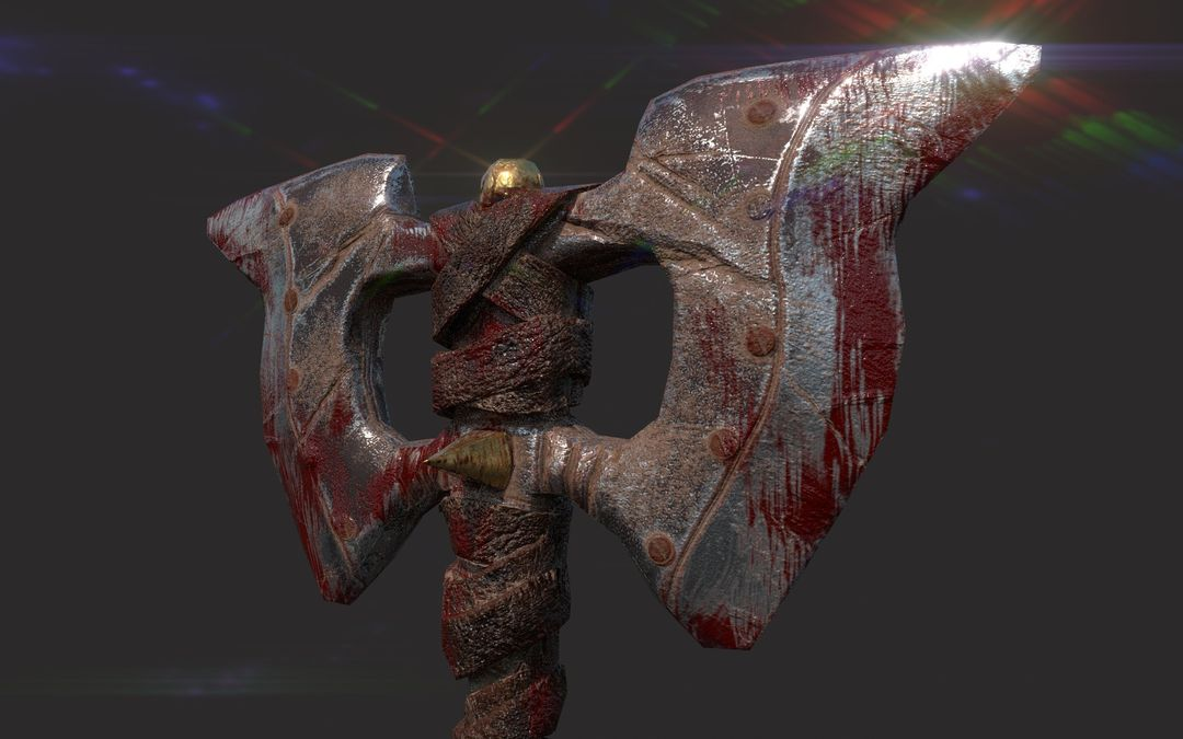 Medieval weapon Axe narendra keshkar fersa 3 jpg