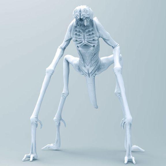 Alien creature 02