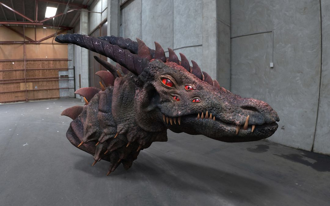 Dragon narendra keshkar render 1 jpg