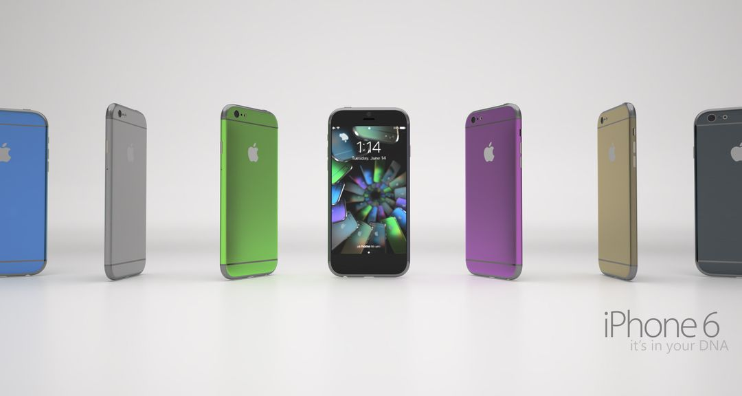 PBR Texturing iphone6White2 1 jpg
