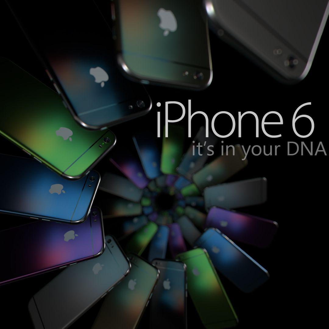 Lighting and Rendering ihpone6 DNA jpg