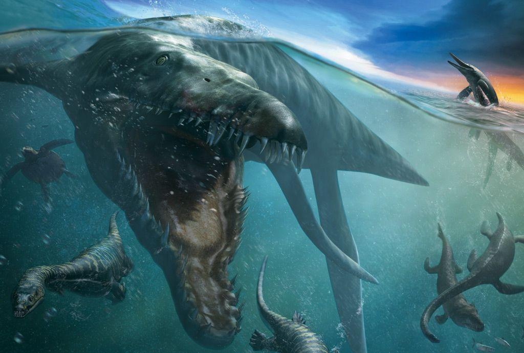 Lighting and Rendering sea monsters poster jpg