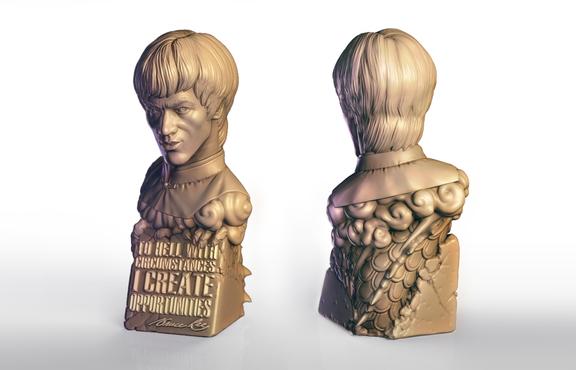 Bruce Lee - Inspirational bust