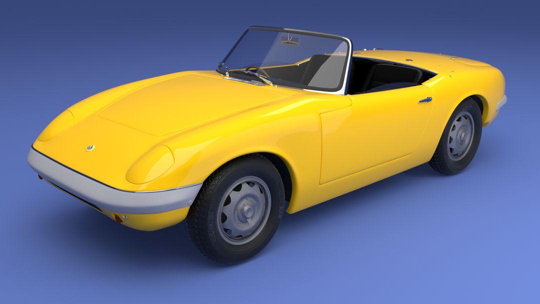 Lotus Elan 1600 3D Model elan cam1 jpg