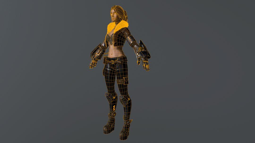 3D Modeling (game project) screenshot009 jpg