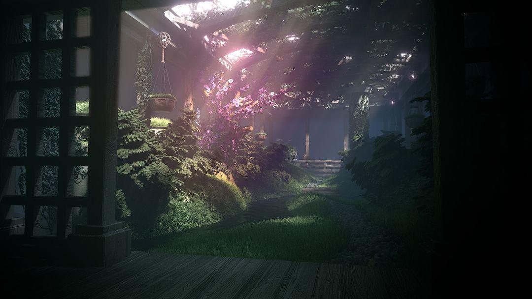 3D Environments IndoorGarden jpg