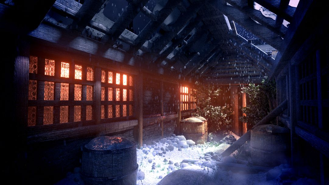 3D Environments Snow jpg