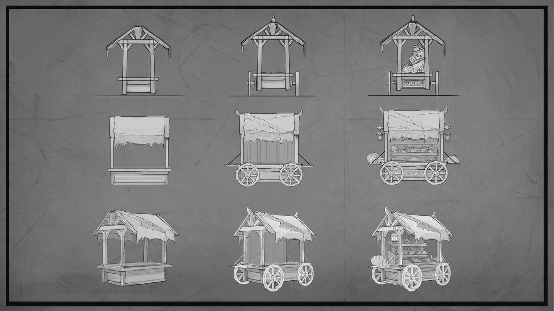 Environment Design and Props maxime delcambre planche dessin2 jpg