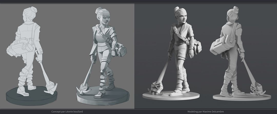 Modelling/Sculpting Realistic or Cartoon Characters 5487 jpg