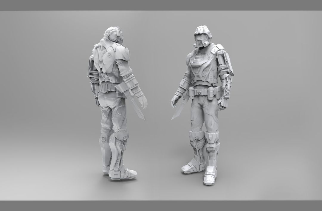 Modelling/Sculpting Realistic or Cartoon Characters maxime delcambre finalrender jpg