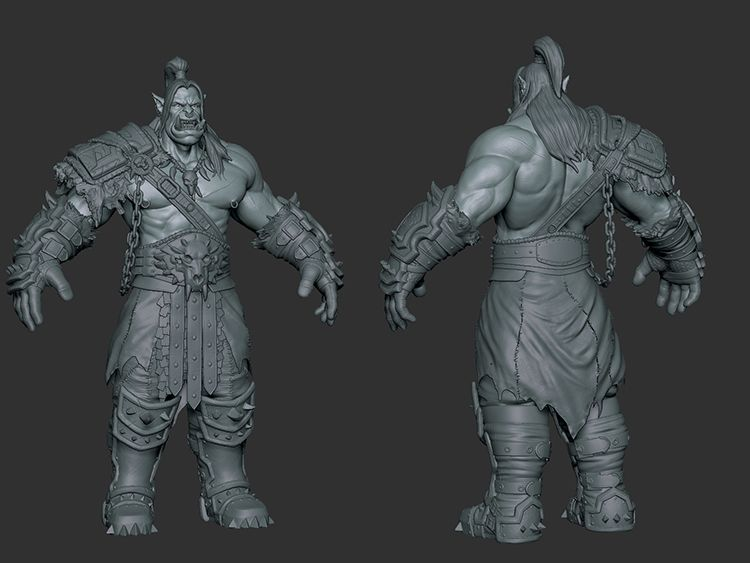 Character Modeling and Texturing sketch jpg
