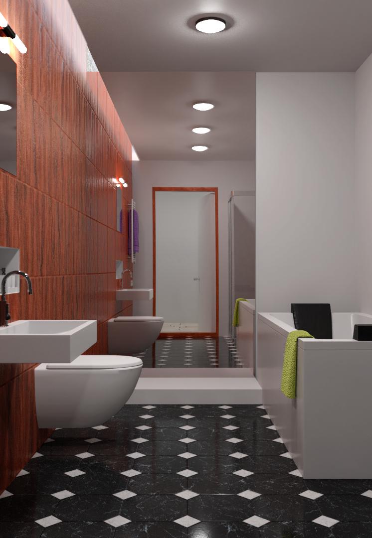 Interior Renders bathroom png