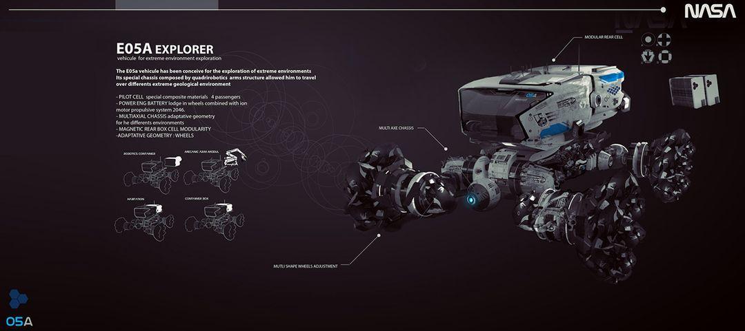 Concept Art / Design ROVER 01 jpg