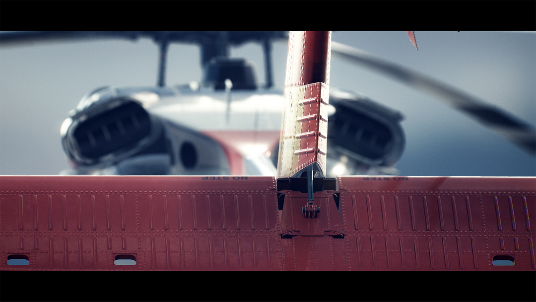 Helicopter UH-60 | Real-Time Render Unreal Engine 4 03 Helicopter UH60 MaxEmskiCom png