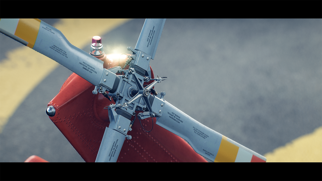 Helicopter UH-60 | Real-Time Render Unreal Engine 4 06 Helicopter UH60 MaxEmskiCom png