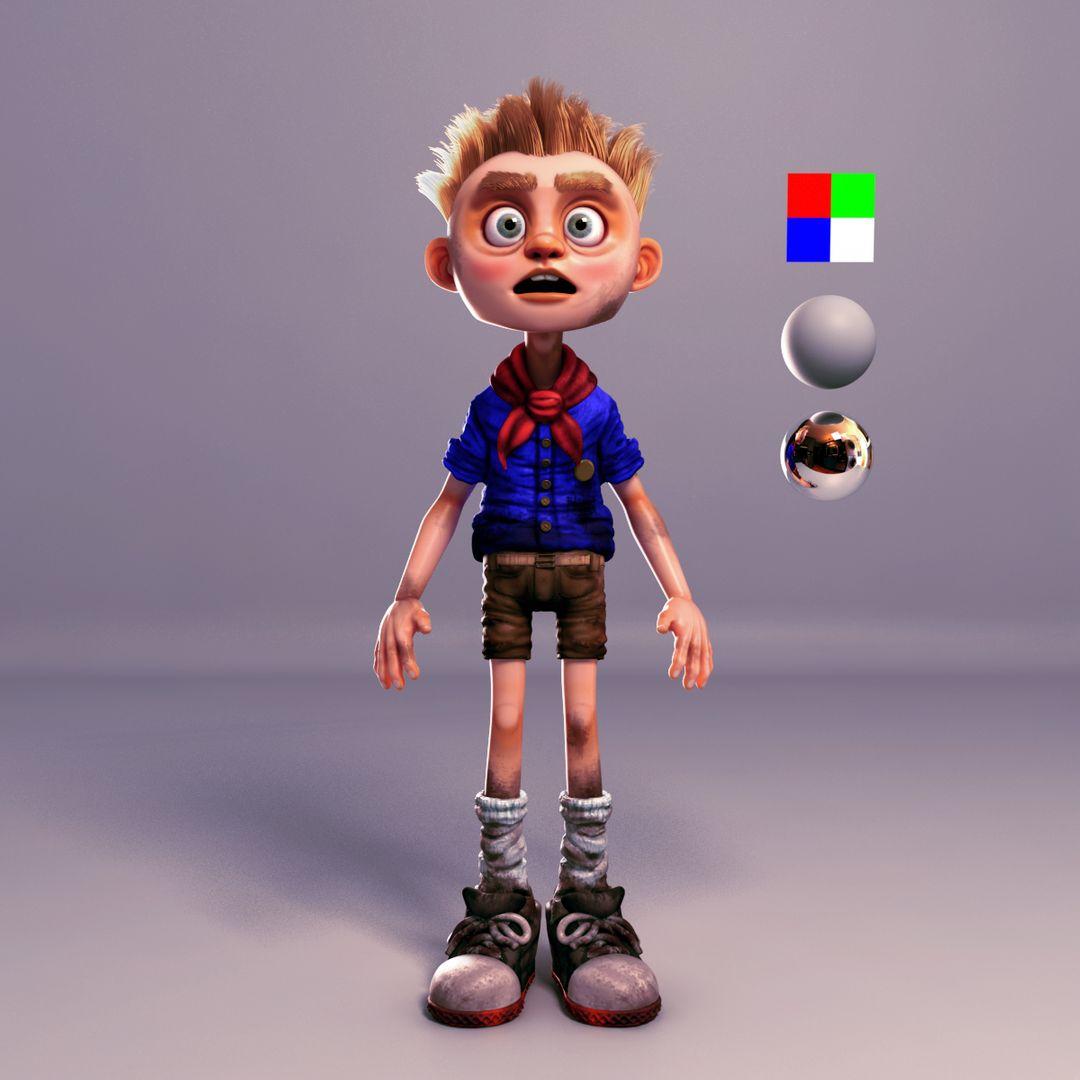 Character Modeling BPR Render12 jpg