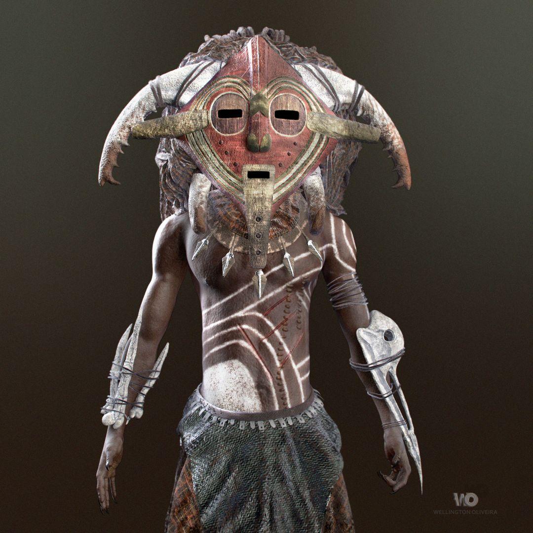 The Shaman (African Fantasy) wellington oliveira shaman 1 png jpg