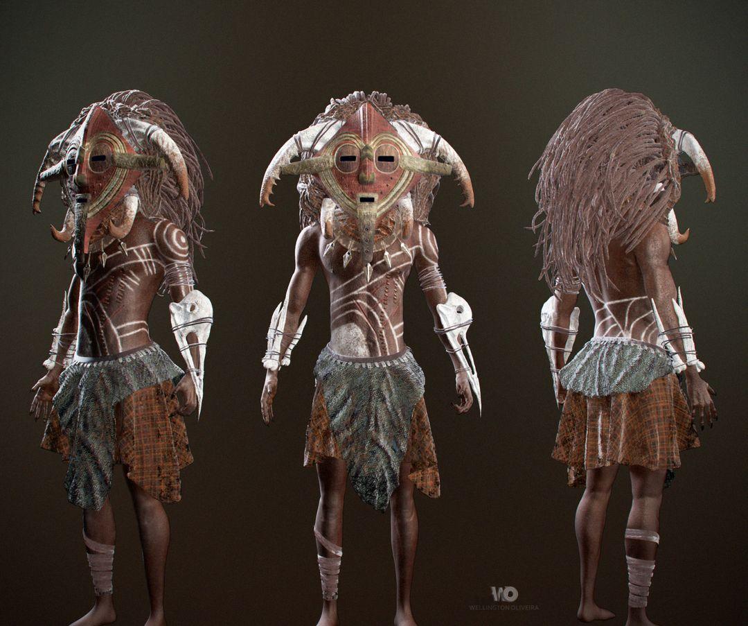 The Shaman (African Fantasy) wellington oliveira shaman 2 png jpg