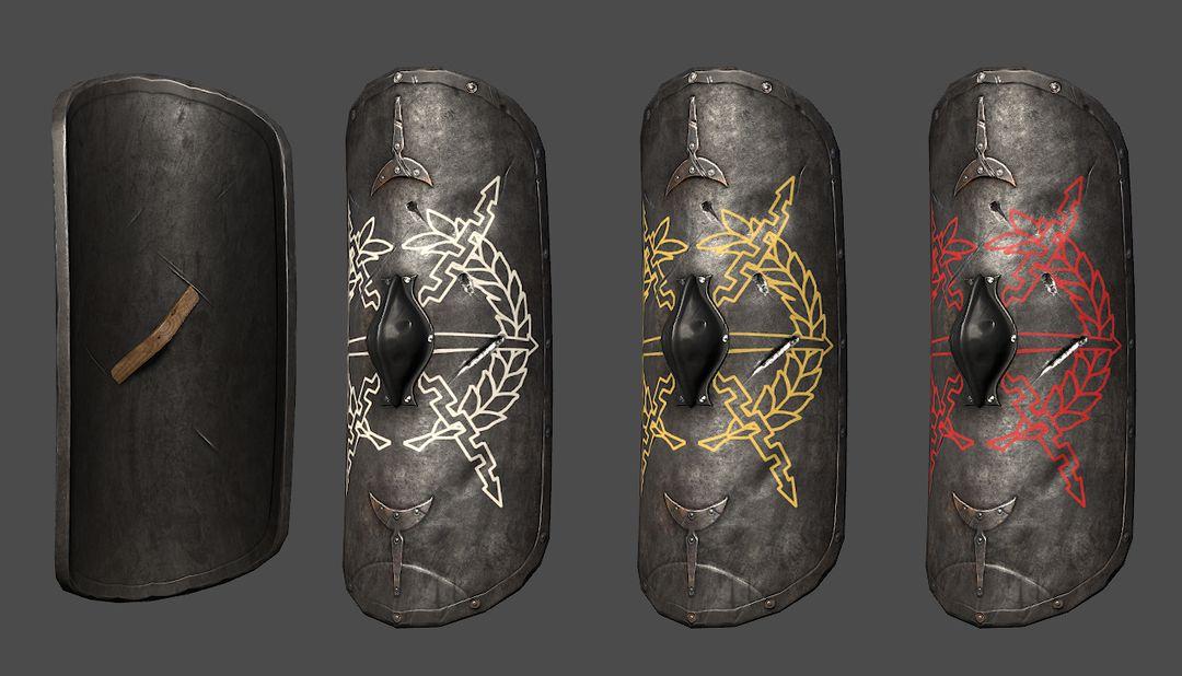 AAA Quality Melee Weapons praetorianshield render 01 jpg
