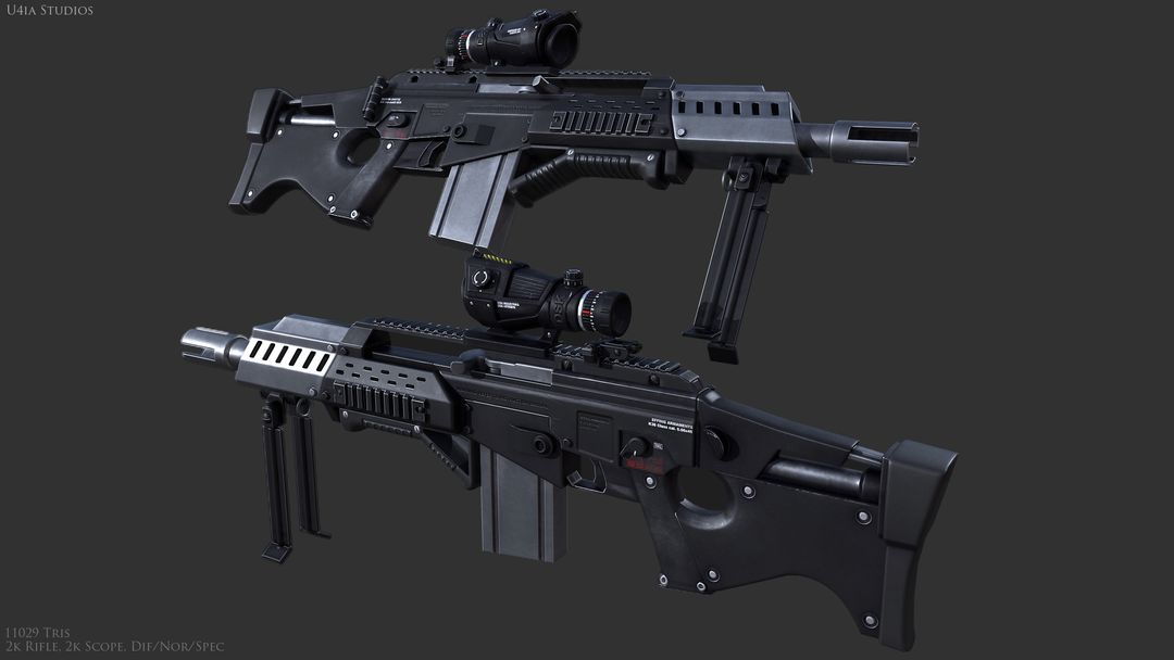 AAA Quality Guns and Firearms Render K36 02 jpg