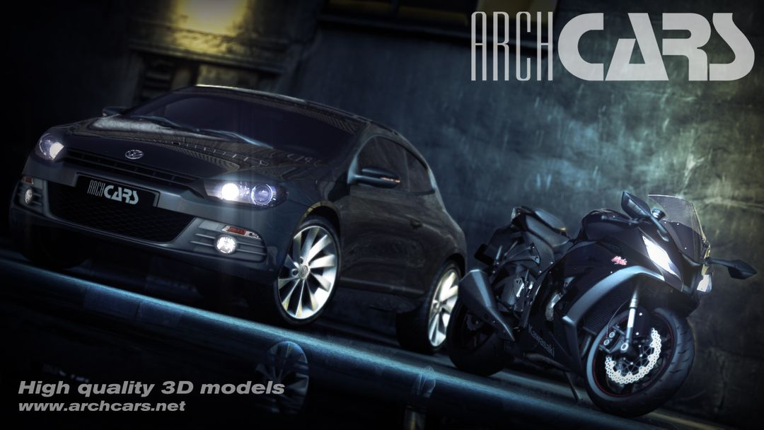 Car Modeling for Still Images and Animations From Concept Art or Blueprints archcars jpg