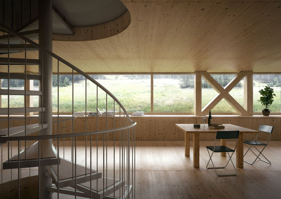 Architectural Visualization INT House in Balsthal Cam01 DAY jpg