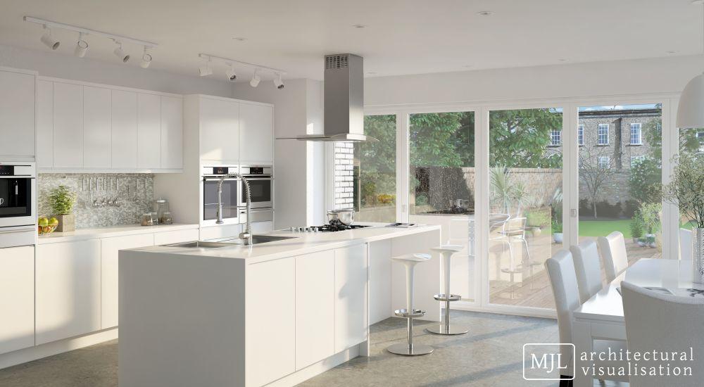 Architectural & Product Visualisation Interior06 KitchenEdit jpg