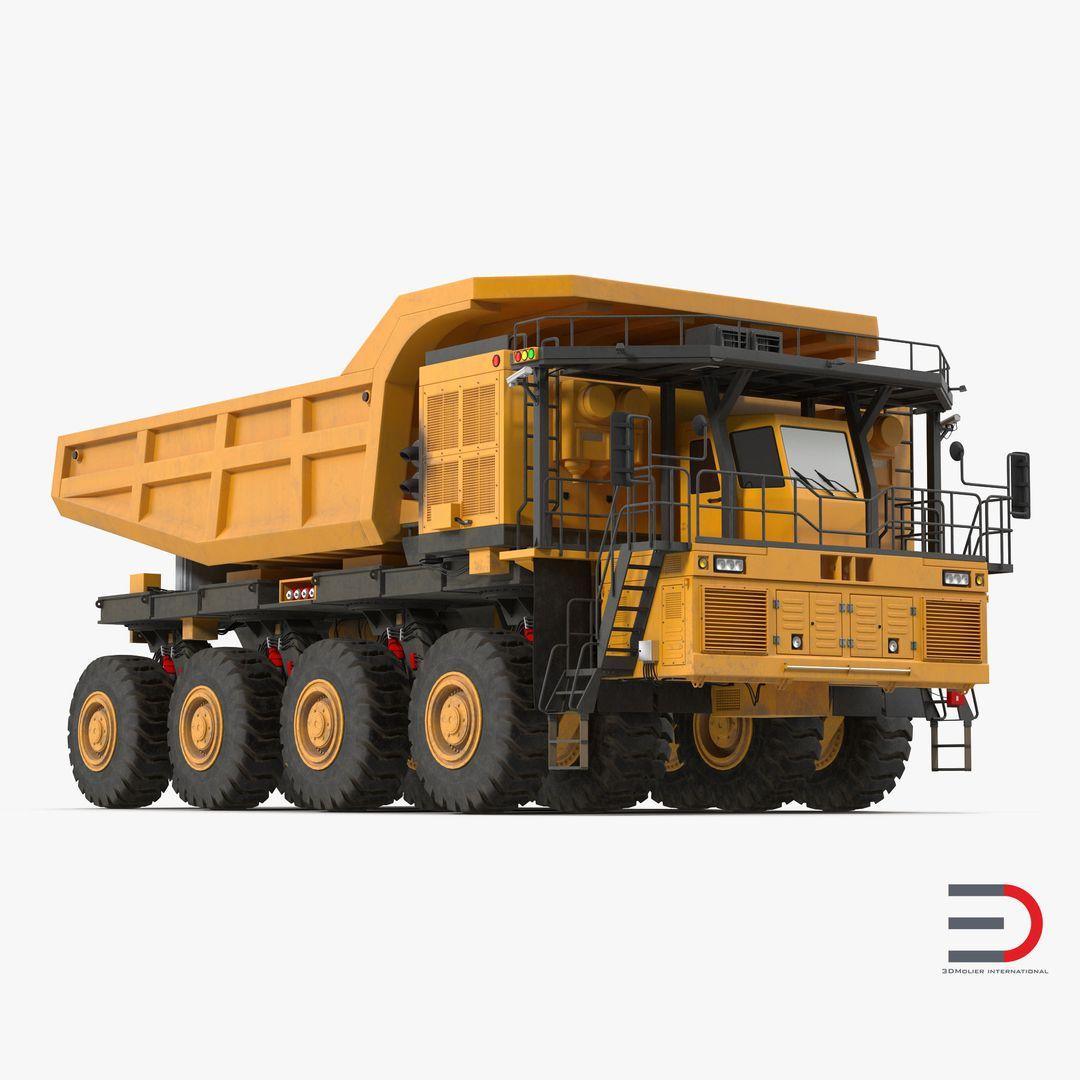 Car Interior and Exterior Modeling Mining Truck jpg
