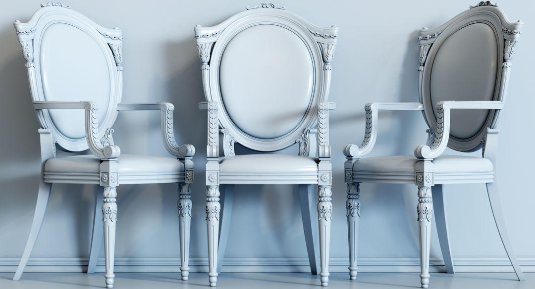 baroque chair N 10 Gray jpg