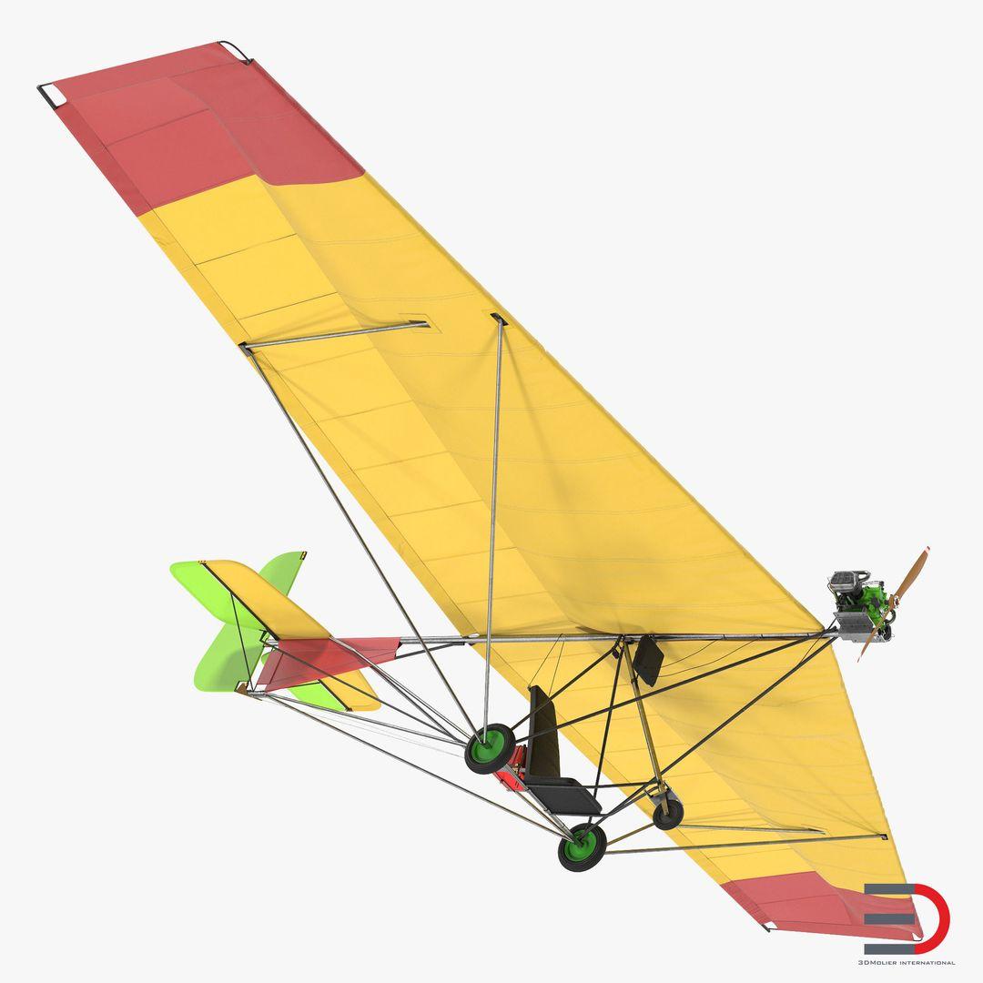 High Quality Realistic Aircraft Modeling ChotiaWeedhopperRiggedc4dmodel000 jpg
