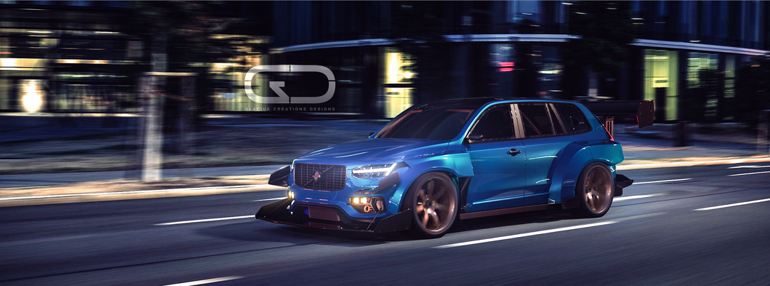 Automotive 3D modeling FinalNIght png