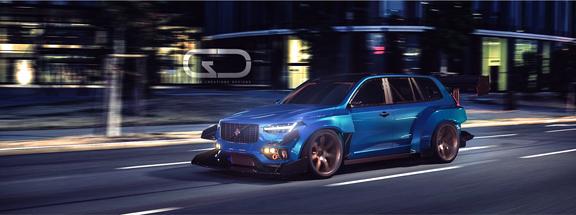 Automotive 3D modeling