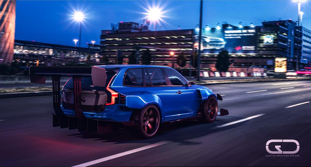 Automotive 3D modeling racerend2 png