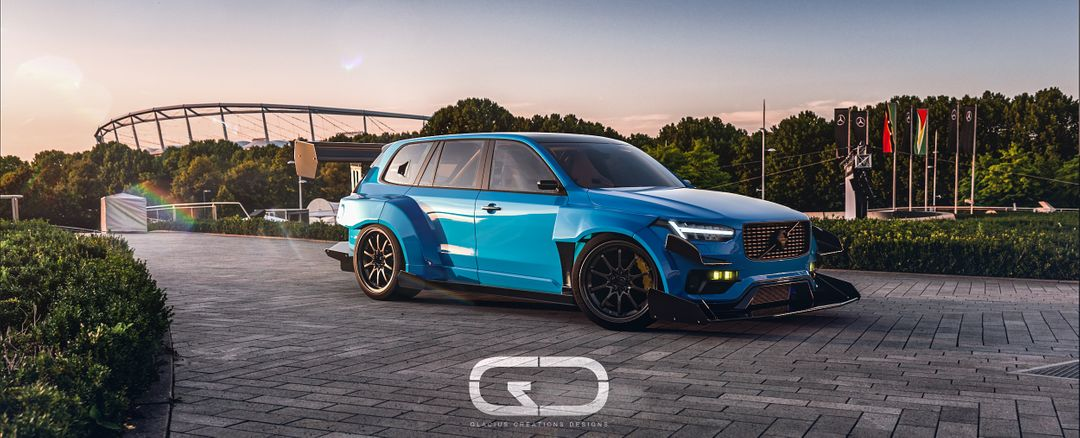 Automotive 3D modeling xc90 final Pos jpg