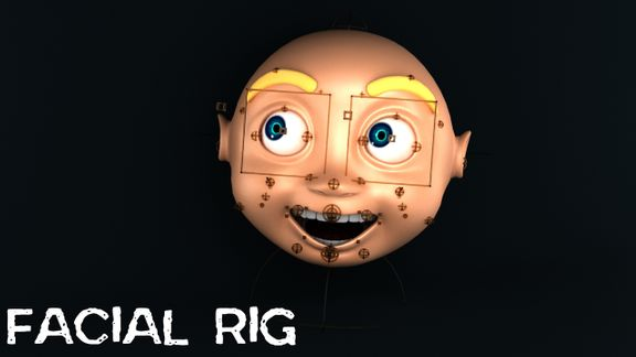 Advanced Facial Rig