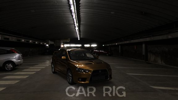 Mitsubishi Lancer Evo Advanced Rig