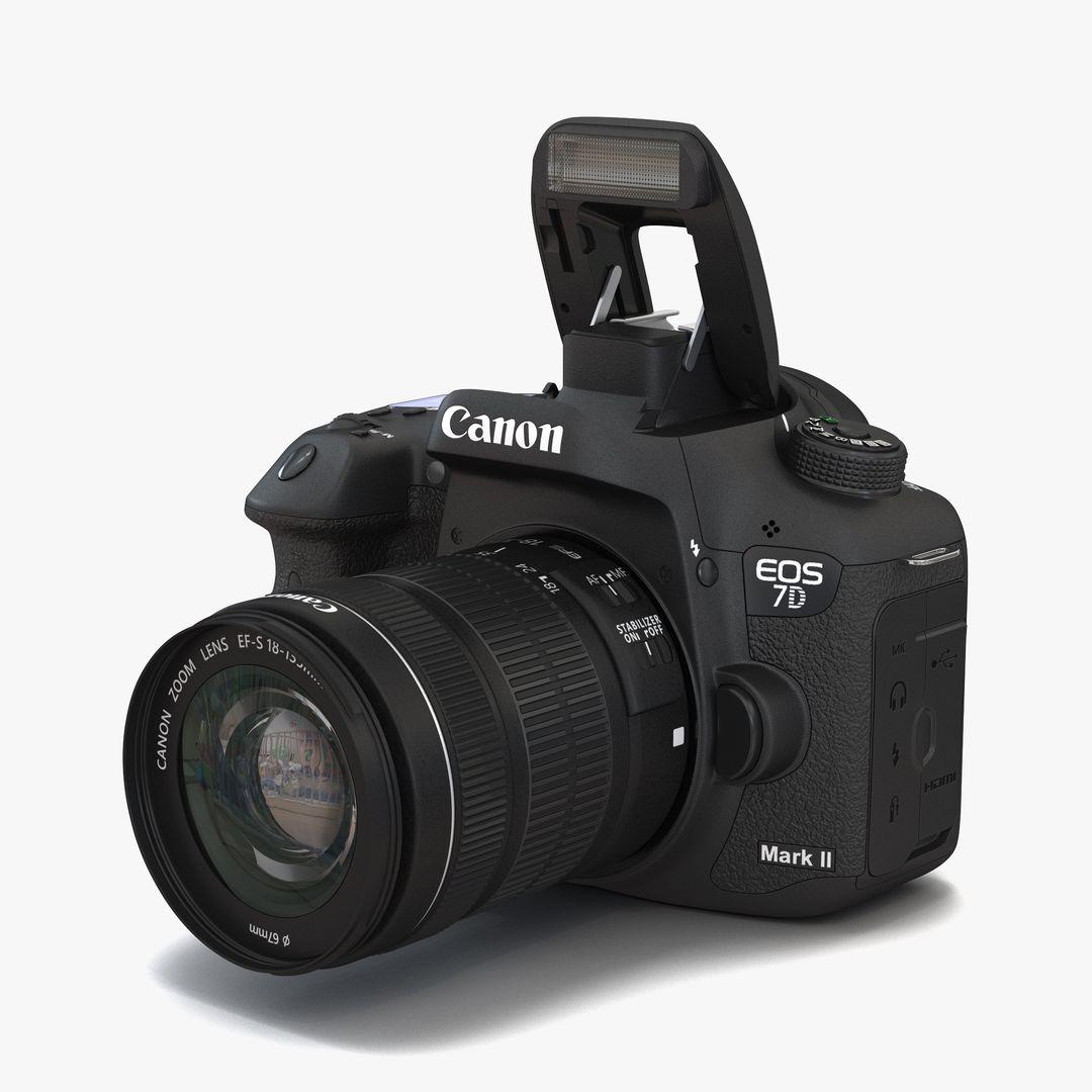 Gadgets, Electronics Modeling Canon EOS 7D Mark II jpg