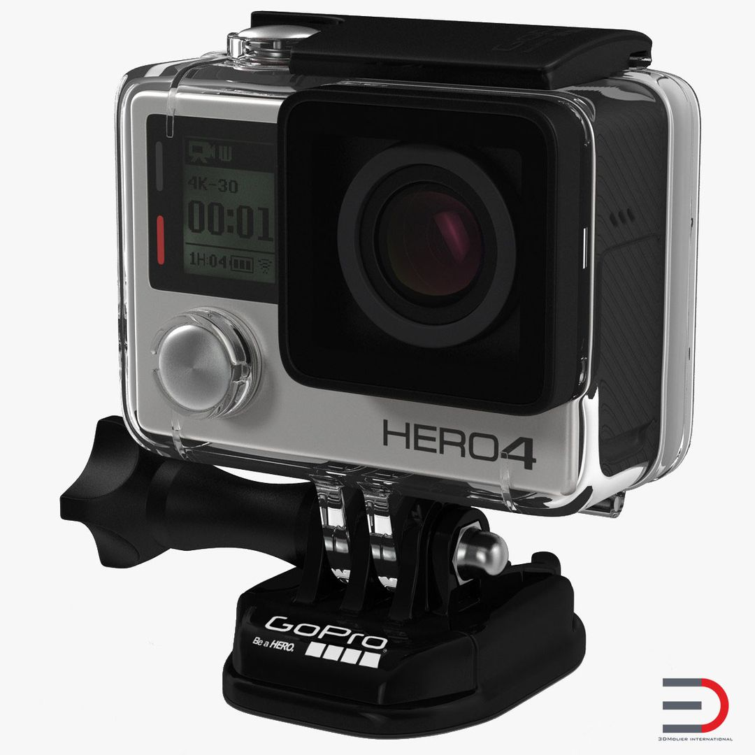 Gadgets, Electronics Modeling GoPro HERO4 Black Edition Camera Set jpg