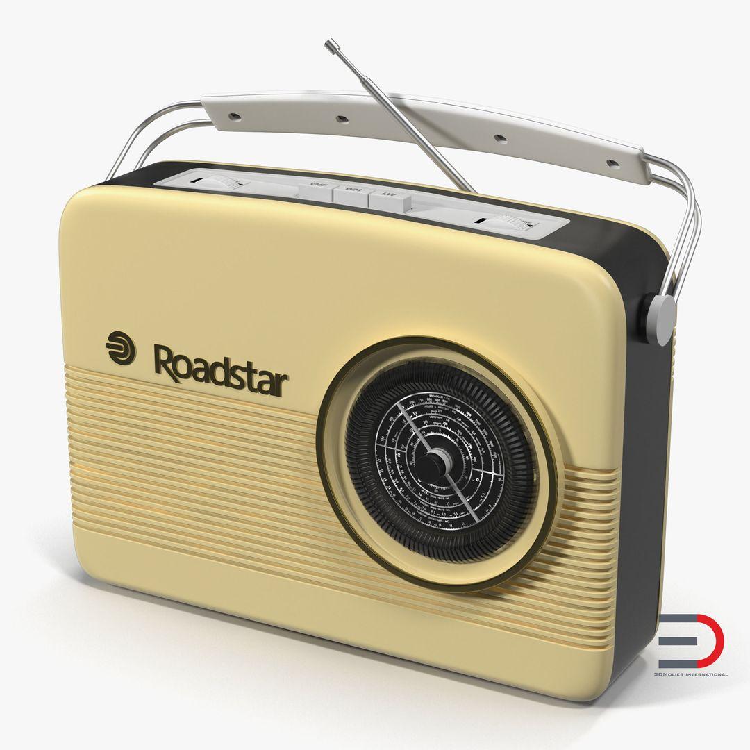 Gadgets, Electronics Modeling Retro Radio jpg