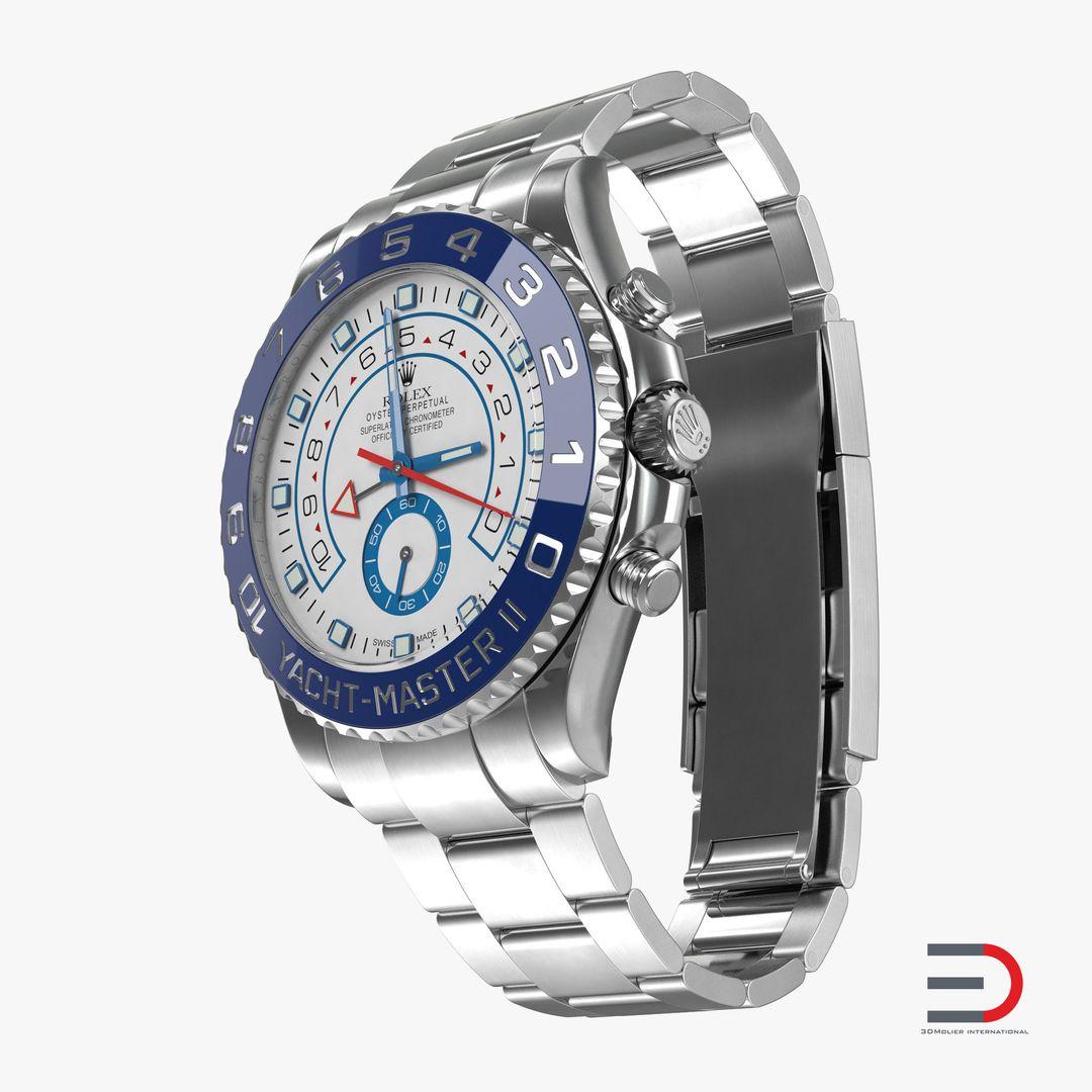 Gadgets, Electronics Modeling Rolex Yachtmaster II Steel jpg