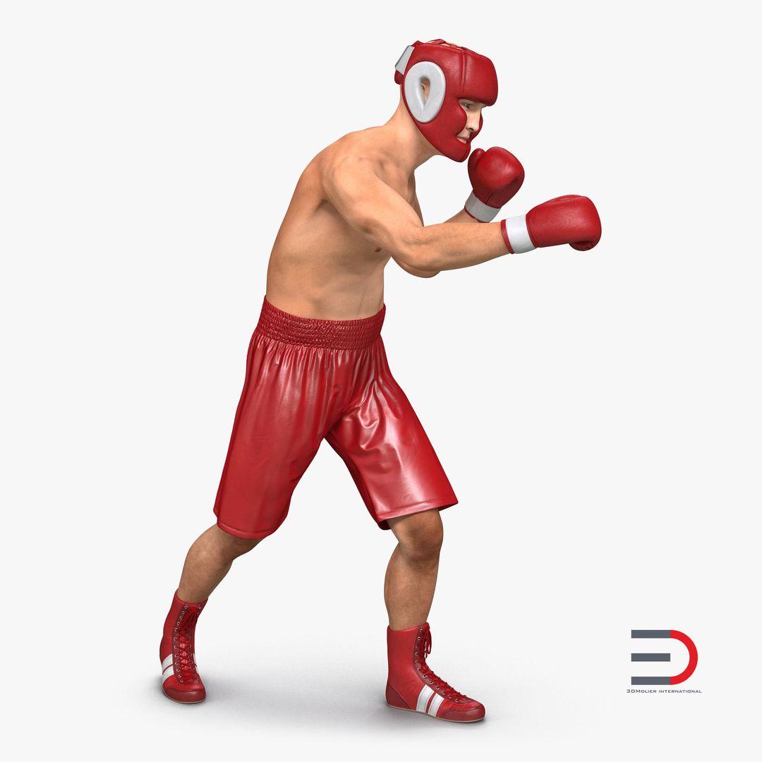 Characters, People Modeling BoxerManvray3dmodel00 jpg