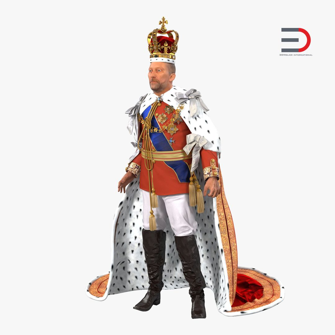 Characters, People Modeling King Rigged jpg