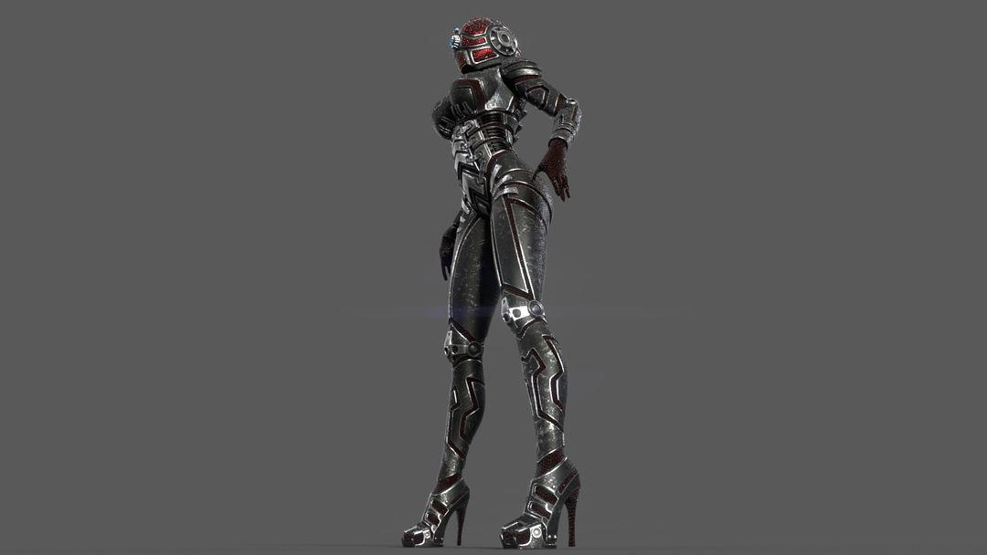 Armored girl gr13 jpg