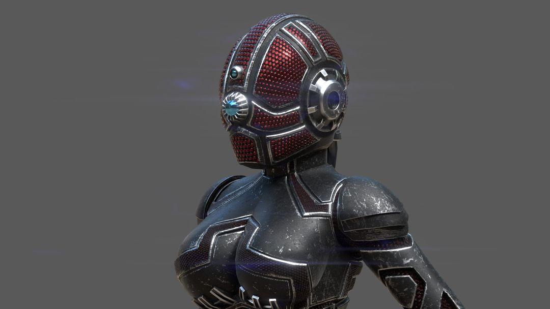 Armored girl gr17 jpg
